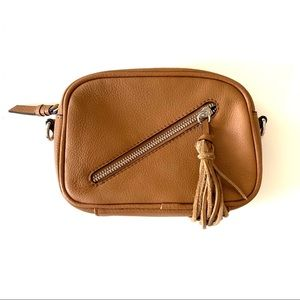 Sanctuary Last Word Mini Leather Crossbody Bag
